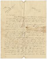 Letter to Miss Eppes from Cecil W. Scott