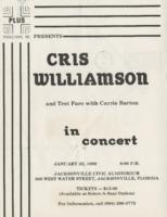 Cris Williamson and Tret Fure with Carrie Barton in concert
