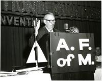 Claude Pepper addressing an American Federation of Musicians event