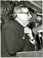 Claude Pepper giving a speech during his re-election campaign against George Smathers