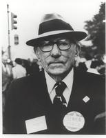 Claude Pepper at the National Council of Senior Citizens Solidarity Day