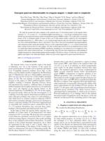 Emergent quasi-one-dimensionality in a kagome magnet