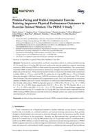 Protein-Pacing and Multi-Component Exercise Training Improves Physical Performance Outcomes in Exercise-Trained Women