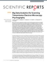 Big Data Analytics for Scanning Transmission Electron Microscopy Ptychography