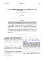 Assessing the Radiative Effects of Global Ice Clouds Based on CloudSat and CALIPSO Measurements