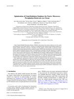 Optimization of Cloud-Radiation Databases for Passive Microwave Precipitation Retrievals over Ocean