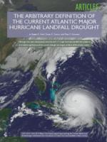THE ARBITRARY DEFINITION OF THE CURRENT ATLANTIC MAJOR HURRICANE LANDFALL DROUGHT