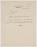 Order from the Navy Department authorizing a 14-day delay home for Richard H. Leigh