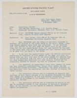 Letter from R. H. Leigh to Vice Admiral Commanding, U.S. Pacific Fleet regarding the U.S.S. Tennessee repair request