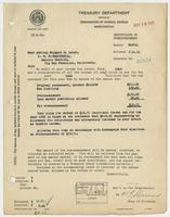 Audit of Richard H. Leigh's 1922 income tax return
