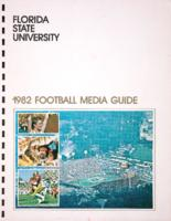 Florida State University 1982 Football Media Guide