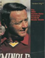 1985 Florida State University Football Media Guide