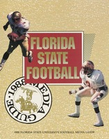 1988 Florida State University Football Media Guide