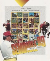 The 1989 Florida State University Media Guide: Seminole '89