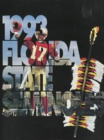 1993 Florida State Seminoles Football Media Guide