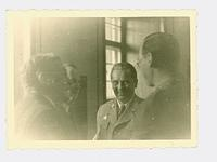 Yugoslavian President Josip Tito with American embassy staff