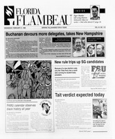 Florida Flambeau, February 21, 1996