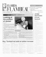 Florida Flambeau, November 09, 1995