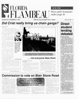 Florida Flambeau, December 06, 1995