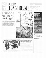 Florida Flambeau, November 08, 1995