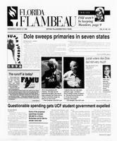 Florida Flambeau, March 13, 1996