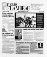Florida Flambeau, April 04, 1996