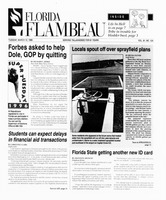 Florida Flambeau, March 12, 1996