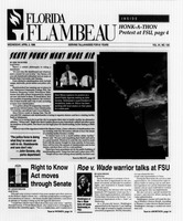 Florida Flambeau, April 03, 1996