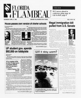 Florida Flambeau, April 17, 1996