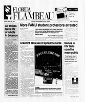 Florida Flambeau, April 26, 1996