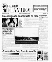 Florida Flambeau, May 16, 1996