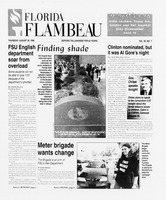 Florida Flambeau, August 29, 1996