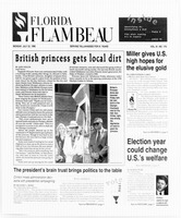 Florida Flambeau, July 22, 1996