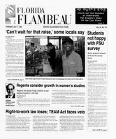 Florida Flambeau, July 11, 1996