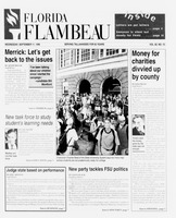 Florida Flambeau, September 11, 1996