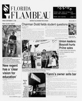 Florida Flambeau, September 13, 1996