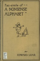 Facsimile of A nonsense alphabet