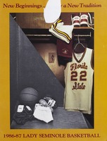 1986-87 Florida State University Lady Seminole Basketball Media Guide