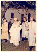 Archbishop Niron celebrating the Holy Easter Mass
