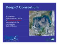 A Long-Term, Interdisciplinary Study of Deep Sea to Coast Connectivity in the Northeasten Gulf of Mexico