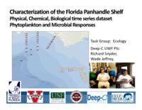 Characterization of the Florida Panhandle Shelf