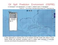 Oil Spill Prediction Environment (OSPRE)