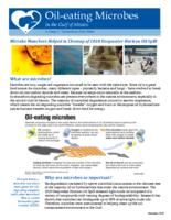 Oil-Eating Microbes in the Gulf of Mexico: A Deep-C Consortium Fact Sheet
