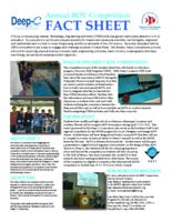 Annual ROV Competition Fact Sheet