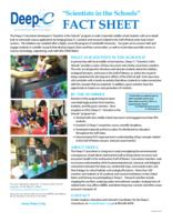 Scientists in the Schools Fact Sheet