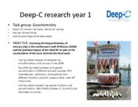 Deep-C Research Year 1