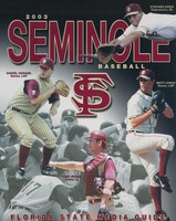 2003 Seminole Baseball: Florida State Media Guide