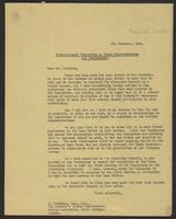 Letter to Mr. Paterson, 5th Decemeber, 1941 concerning ther International Commission for Penal Reconstruction and Development