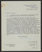 Letter to Mr. Turner from H. Stannard, 24th December, 1941