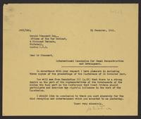 Letter to Mr. Stannard from J.W.C. Turner, 31 December, 1941